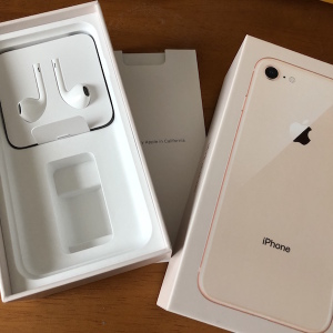 iPhone8のゴールド