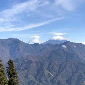 身延からの富士山